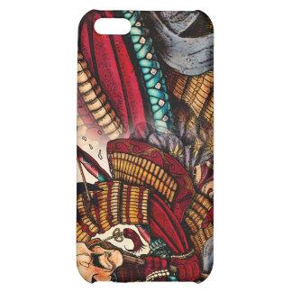 Caso del iPhone 4 del samurai