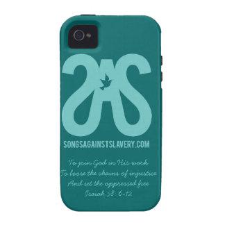 Caso del iPhone 4 del SAS Case-Mate iPhone 4 Carcasas
