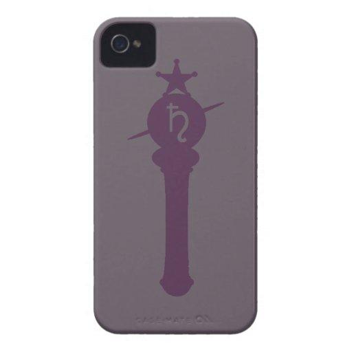 Caso del iPhone 4 del símbolo de Saturn Funda Para iPhone 4