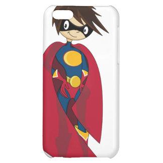 Caso del iphone 4 del super héroe de Caped