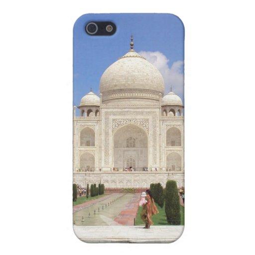 Caso del iPhone 4 del Taj Mahal iPhone 5 Cárcasas