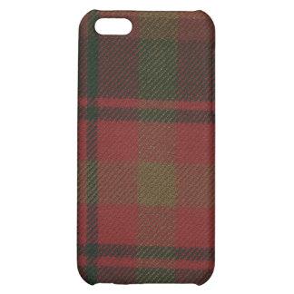 Caso del iPhone 4 del tartán de la hoja de arce