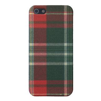 Caso del iPhone 4 del tartán de Nuevo Brunswick iPhone 5 Carcasa