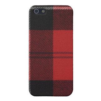 Caso del iPhone 4 del tartán de Ramsay del clan iPhone 5 Carcasa