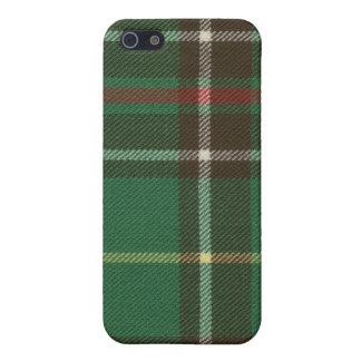Caso del iPhone 4 del tartán de Terranova iPhone 5 Funda