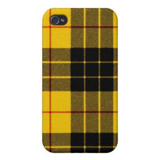 Caso del iPhone 4 del tartán del vestido de MacLeo iPhone 4 Protector