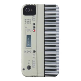 Caso del iPhone 4 del teclado de la música iPhone 4 Protector