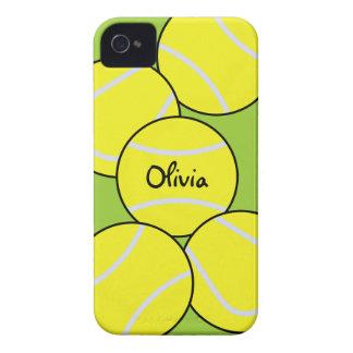 Caso del iPhone 4 del tenis iPhone 4 Case-Mate Cárcasa