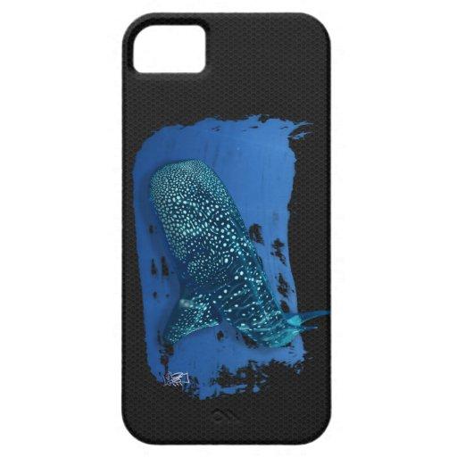 Caso del iphone 4 del tiburón de ballena iPhone 5 Case-Mate coberturas