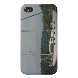 Caso del iPhone 4 del velero del placer iPhone 4/4S Carcasas