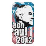 Caso del iPhone 4 del vintage $40,95 de Ron Paul iPhone 4 Fundas