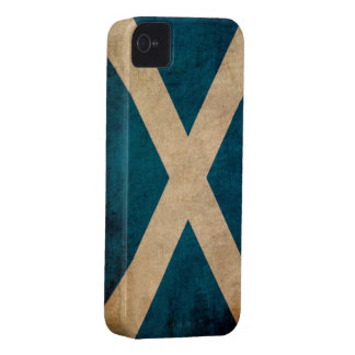 Caso del iPhone 4 del vintage de Escocia Case-Mate iPhone 4 Cárcasas