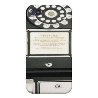 Caso del iPhone 4 del vintage iPhone 4 Cárcasas