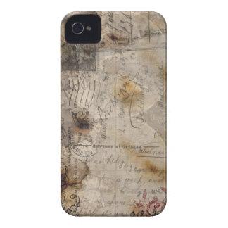 Caso del iPhone 4 del vintage iPhone 4 Case-Mate Coberturas