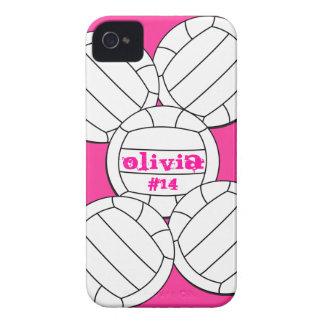 Caso del iPhone 4 del voleibol Case-Mate iPhone 4 Protectores