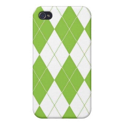 caso del iPhone 4 - diamante Argyle - cal iPhone 4/4S Carcasas