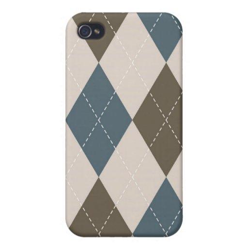 caso del iPhone 4 - diamante Argyle - olivo iPhone 4 Cobertura