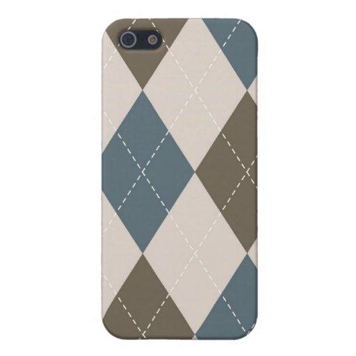 caso del iPhone 4 - diamante Argyle - olivo iPhone 5 Fundas