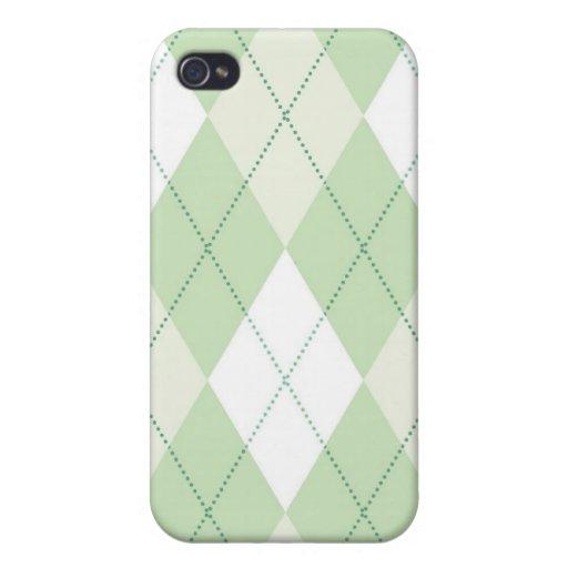caso del iPhone 4 - diamante Argyle - primavera iPhone 4 Cobertura