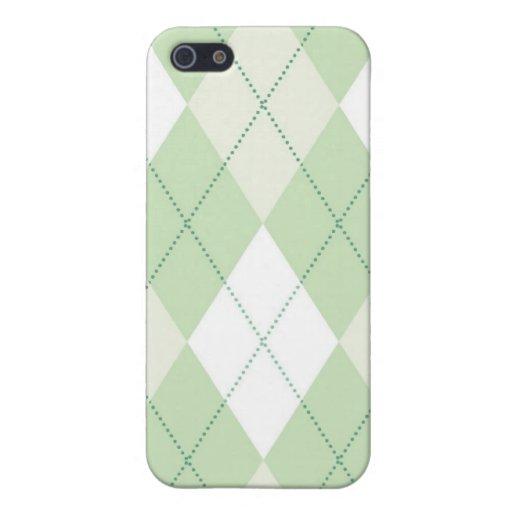 caso del iPhone 4 - diamante Argyle - primavera iPhone 5 Protectores