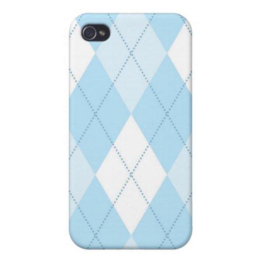caso del iPhone 4 - diamante de Argyle - príncipe iPhone 4 Protector