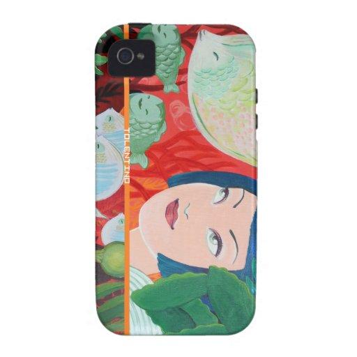 caso del iPhone 4 - Gigi debajo del mar Vibe iPhone 4 Funda