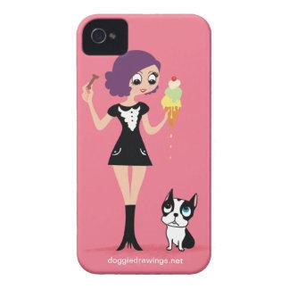 """caso del iPhone 4: La boogie ama a """"Beasley Carcasa Para iPhone 4"""