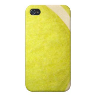caso del iPhone 4 - pelota de tenis viva iPhone 4 Carcasas