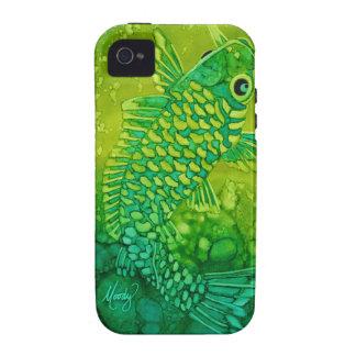 caso del iPhone 4 - pescado de Koi iPhone 4 Carcasas