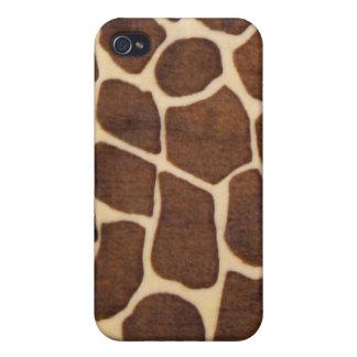 caso del iPhone 4 - piel de la jirafa iPhone 4 Cárcasa