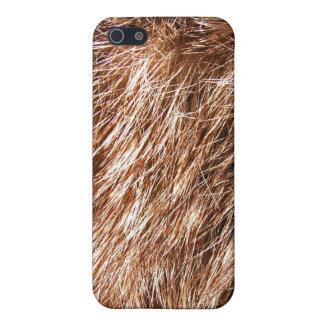 caso del iPhone 4 - piel del conejo iPhone 5 Protector