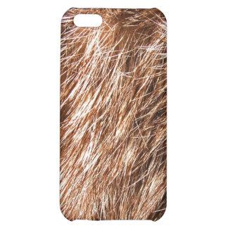 caso del iPhone 4 - piel del conejo