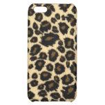 caso del iPhone 4 - piel del leopardo