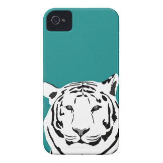 caso del iPhone 4 - tigre en trullo Case-Mate iPhone 4 Cárcasas