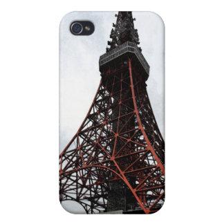 Caso del iPhone 4G de la torre de Tokio iPhone 4 Cárcasa