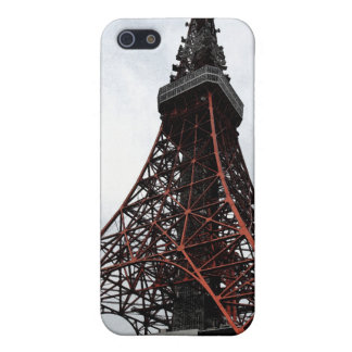 Caso del iPhone 4G de la torre de Tokio iPhone 5 Carcasas