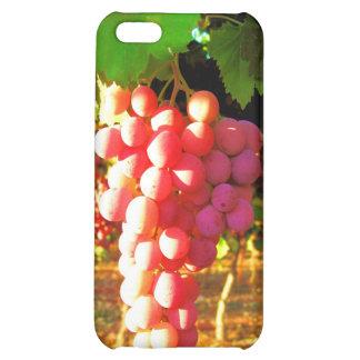 Caso del iPhone 4G de las uvas de California