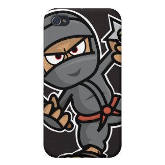 Caso del iPhone 4G de Ninja iPhone 4 Carcasas