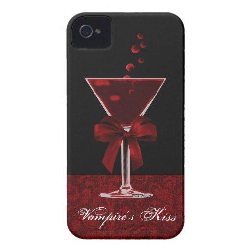 Caso del iPhone 4G del cóctel del vampiro iPhone 4 Cobertura