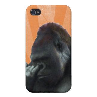 Caso del iPhone 4G del gorila iPhone 4 Cobertura