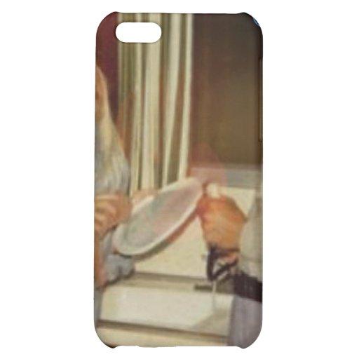 Caso del iPhone 4S de Doin DA Dishes_cathode - por