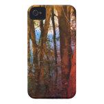 Caso del iPhone 4S de los árboles de la primavera iPhone 4 Carcasas