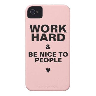 caso del iPhone 4s de motivación: Rosa iPhone 4 Case-Mate Carcasa