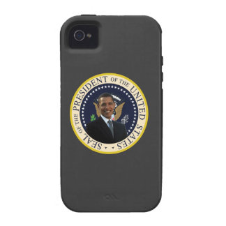 Caso del iPhone 4s de Obama Vibe iPhone 4 Funda