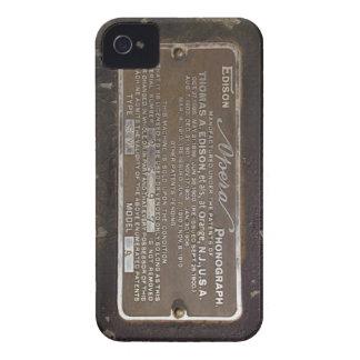 caso del iphone 4s del fonógrafo carcasa para iPhone 4