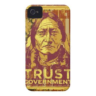 Caso del iPhone 4S del gobierno de la confianza de Carcasa Para iPhone 4