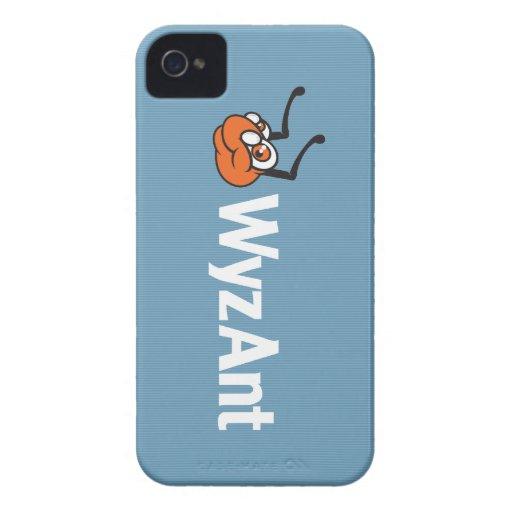 Caso del iPhone 4s del logotipo de WyzAnt iPhone 4 Case-Mate Protector
