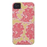 Caso del iPhone 4S del papel pintado de Paisley de Case-Mate iPhone 4 Carcasas