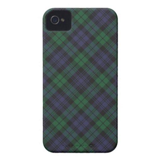 Caso del iPhone 4s del tartán de Campbell del clan iPhone 4 Case-Mate Fundas