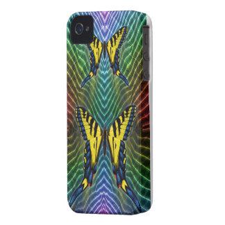 caso del iPhone 4S - tigre Swallowtails Case-Mate iPhone 4 Protector